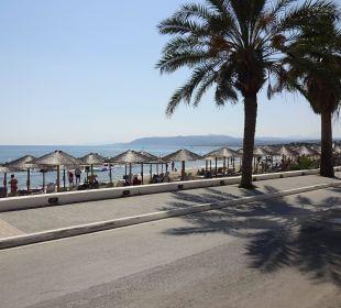 Strand direkt am Hotel Hotel Corissia Princess