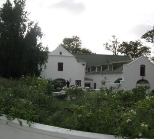 Ansicht Haupthaus/Lobby von außen Hotel The Cellars-Hohenort