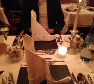 Abendessen  Hotel Das Rübezahl