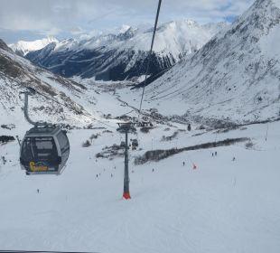 Galtür Bergbahn Alpinhotel Monte