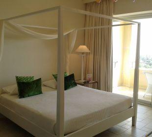 Himmelbett, in dem ich himmlich schlafen konnte Hotel Grecotel Eva Palace