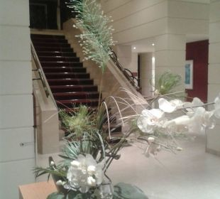 Treppenaufgang K+K Palais Hotel