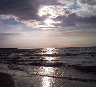 Sonnenuntergang Hotel Neptun