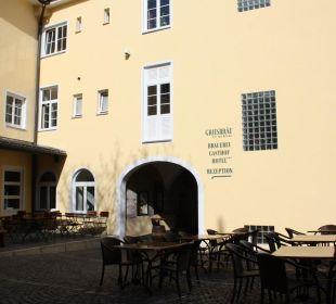 Innenhof Griesbräu zu Murnau