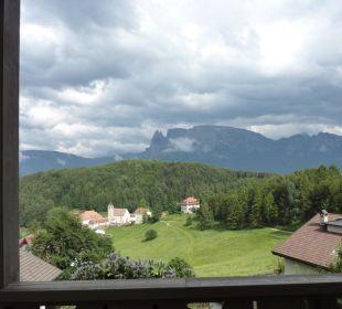 Blick zum Schlern Hotel Dolomitenblick