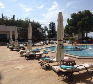 Poolbereich Hotel Divan Antalya Talya