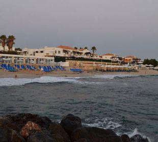 Ansicht Strand vom Pier AKS Annabelle Beach Resort