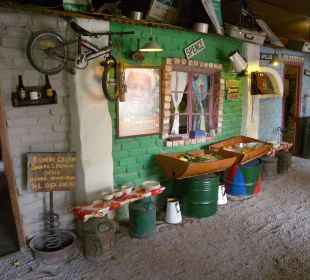 Ein Teil des Frühstückbuffets Etosha Safari Camp