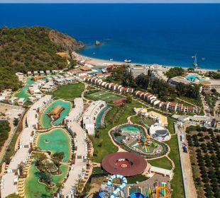Ansicht Meerseite Hotel Rixos Premium Tekirova