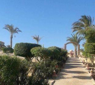 Weg zum strand Hotel Utopia Beach Club