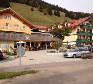 Eingangsbereich Hubertus Alpin Lodge & Spa