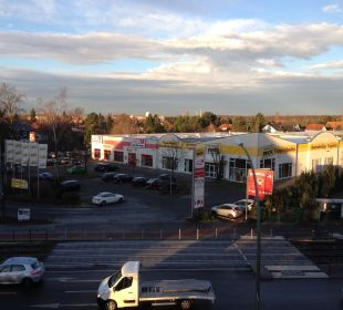 Ausblick von Zimmer 309 Businesshotel Berlin