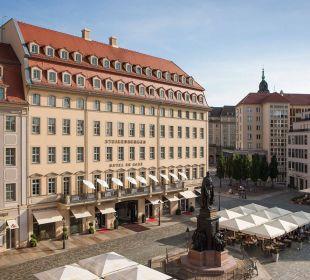 Außenansicht Steigenberger Hotel de Saxe