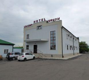 Hotel mit Parkplatz