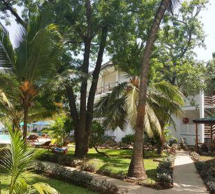 Gartenanlage Hotel Traveller's Club