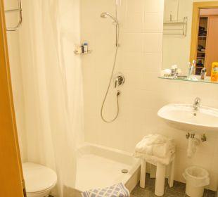 Das Bad (Dusche) Hotel Ladurner