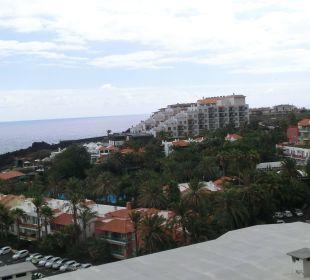 Blick vom Berg auf die Anlage Hotel Hacienda San Jorge