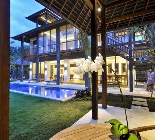Rumah isah - Blick aus dem Bungalow Nusa Indah Bungalows & Villa