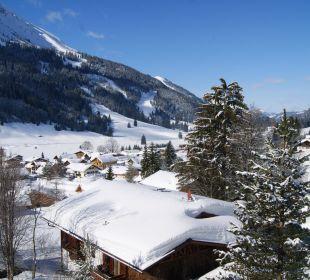 Ausblick vom Balkon Hotel Sunneschlössli