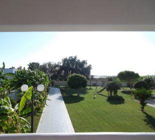Gartenanlage im Hotel Tigaki Star