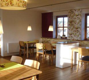 Frühstückszimmer neu gestaltet Gästezimmer Fewos Familie Neubert