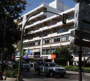 Fassade Hotel San Cristobal