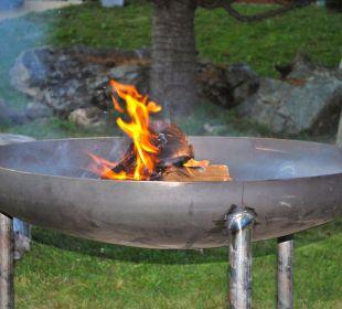 Feuerstelle... Perfekt für ein kühles Bier Hotel Panorama Valbella (geschlossen)