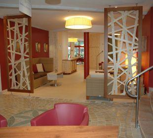 """Wellnessreception / Restaurant """"Giardino"""" Hotel Die Post"""