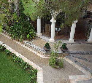 Blick vom Balkon Zimmer 1214 Hotel Lago Garden