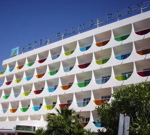 Außenansicht Hotel Palma Playa - Cactus
