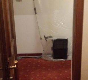 Trocknungsgerät laut Hotel Bellevue & Austria