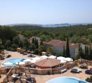 Blick vom Balkon (Haus 3 Etage 4) Hotel Don Antonio
