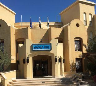 Der Eingang Arena Inn Hotel, El Gouna