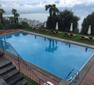 Aussenpool Villa Orselina Boutique Hotel