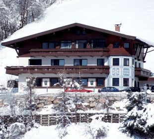 Außenansicht im Winter Appartement Conrad