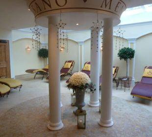 Residenzgarten im Wellnessbereich Hotel Schneider
