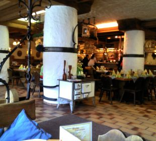 The Restaraunt in Bavarian Style  Hotel & Brauereigasthof Hirsch