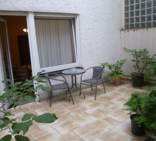 Unsere Terrasse Gästehaus Albers
