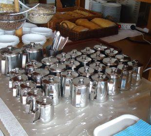 Hier gibt es Kaffee soviel man will Villa Pavlinka