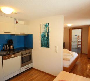 Studio im Appartementshaus die Sonnigen Hotel und Restaurant