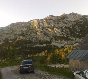 Abendstimmung hinter dem Hotel Hotel Alpenrose