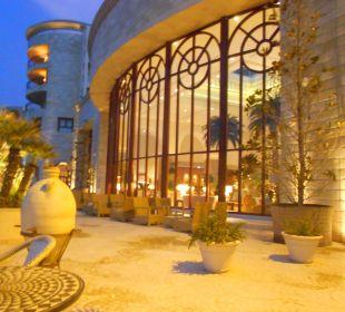 Terrasse Hotel Mövenpick Resort & Marine Spa Sousse