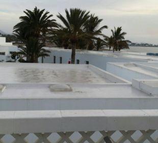 Angeblicher Meerblick Hotel Las Costas