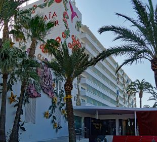 Hotel Eingang Ushuaia Ibiza Beach Hotel - The Tower / The Club