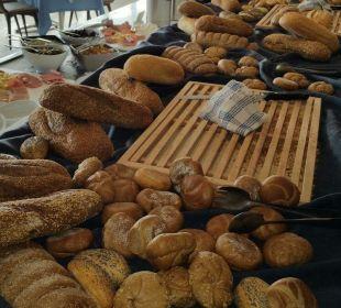 Brot- und Brötchenauswahl Hotel Corissia Beach