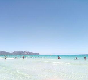 Der herrliche Strand SENTIDO Playa del Moro