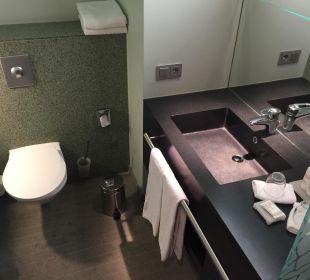 Übersicht Bad/WC/Dusche Radisson Blu Hotel Köln