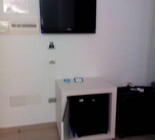 Eingangsbereich mit Kühlschrank  Hotel Las Costas