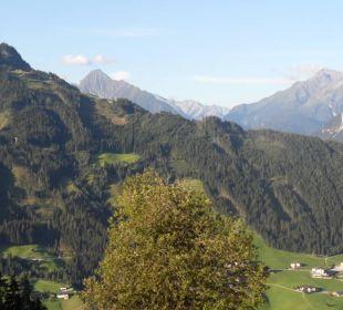 Aussicht vom Zimmer Alpengasthof Enzianhof