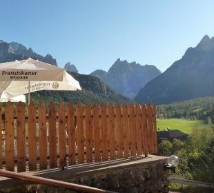 Blick von Terrasse Biovita Hotel Alpi